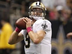 New Orleans Saints quarterback Drew Brees says this weekend's meeting with Tampa Bay is as big as midseason games get.