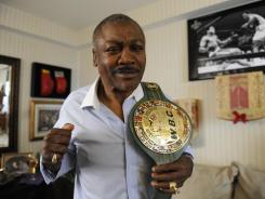Former undisputed heavyweight champion Joe Frazier, seen here in 2009, died at the age of 67 on Monday night. Frazier was diagnosed with liver cancer in late September.