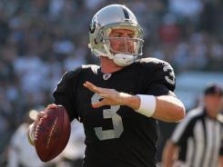 """It was a selfish decision,"" Raiders quarterback Carson Palmer told CBS of his offseason stance that he'd rather retire than play in Cincinnati."