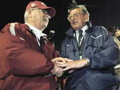Former Florida State coach Bobby Bowden says if anyone can guide a team through a scandal it is his friend Joe Paterno.