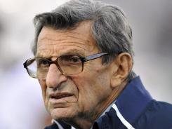Joe Paterno has much more on his mind this week than preparing for Saturday's home season finale against No. 17 Nebraska.