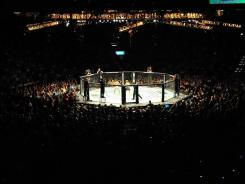 Zuffa gets most of its revenue from pay-per-view broadcasts of major fight cards, such as the July 2 event headlined by a bantamweight title fight between champion Dominick Cruz and Urijah Faber in Las Vegas.