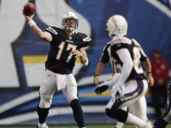 quarterback Philip Rivers has not approached MVP-level performance this season.