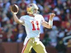 Alex Smith  and the San Francisco 49ers have passed the test in the first half of this season..