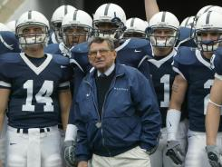 Penn State football coach Joe Paterno announced that he will retire at the end of this season.