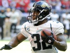 Jacksonville's Maurice Jones-Drew faces Indianapolis' No. 31 run defense.