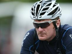 Floyd Landis of the USA prepares for Stage Six of the Tour of Southland on Nov. 4, 2010 in Invercargill, New Zealand.