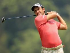 Molinari and Morrison lead in Singapore Open golf