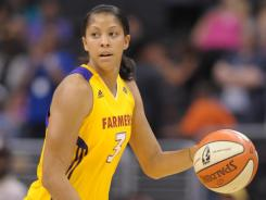 The Los Angeles Sparks selected Candace Parker with the No. 1 overall pick after winning the 2008 draft lottery.