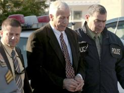 Former Penn State assistant football coach Jerry Sandusky, is charged with sexually abusing eight young men.