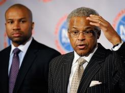 NBPA executive director Billy Hunter and NBPA president Derek Fisher are reviewing the owners' latest offer and will talk with player reps early next week.
