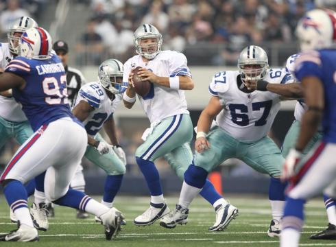 Image result for cowboys bills romo