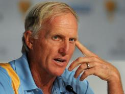 Greg Norman, the captain of the International team, says the course gives his team an advantage.