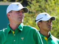 Steve Stricker and Tiger Woods were undefeated as a team in the 2009 Presidents Cup.