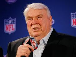 NFL Hall of Famer John Madden says he misses working as a broadcaster.