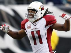 Arizona's Larry Fitzgerald had 11 receptions for 125 yards and one score in last year's Week 17 meeting against San Francisco.