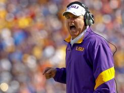 Les Miles, coach of the top-ranked LSU Tigers, is among the highest paid coaches in the country.