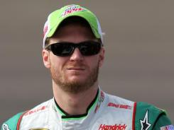 Dale Earnhardt Jr., NASCAR's most popular driver, says he will be pulling for fellow Chevrolet driver Tony Stewart to win the Sprint Cup championship.