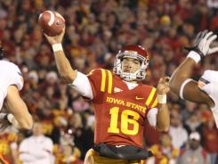Jared Barnett threw for 376 yards and three touchdowns in Iowa State's upset of No. 2 Oklahoma State.