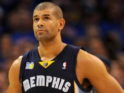 "Free agent Shane Battier says of the NBA lockout, ""It's unsettling to not know what the terms of the CBA will be."""