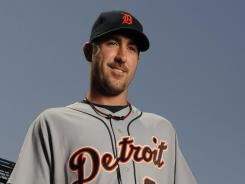 Tigers ace Justin Verlander added an MVP on Monday to his Cy Young Award after a 24-5 season with a 2.40 ERA and 250 strikeouts.