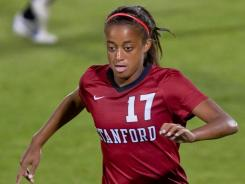 Lindsay Taylor and the rest of the seniors on the Stanford team are trying to close out their home careers unbeaten.