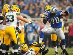 Lions DT Ndamukong Suh and his ill-advised Thanksgiving Day stomp.