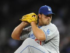 Reliever Jonathan Broxton was limited to just 14 games in 2011.