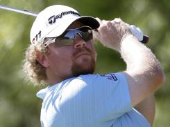 William McGirt is a shot out of the lead at Q School. This photo was taken at the Children's Miracle Network Classic in October.
