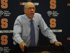 Jim Boeheim and Syracuse added to a troubled month for college athletics.