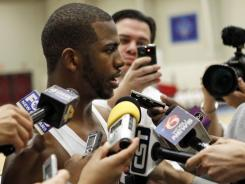 New Orleans Hornets point guard Chris Paul is the subject of much speculation on where he will end the season as a prospective free agent in 2012-13.