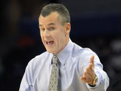 Billy Donovan counts Jim Boeheim as a good friend but points out the issues at Syracuse are troubling.
