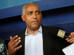 Omar Minaya, seen here in 2008, was fired by the New York Mets following the 2010 season after spending almost six years as their general manager.