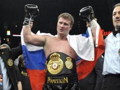 Alexander Povetkin improved to 23-0 with his eighth-round knockout of Cedric Boswell.