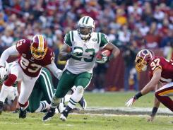 Shonn Greene's three Touchdowns lifted the New York Jets over the Washington Redskins on Sunday in Landover, Md.
