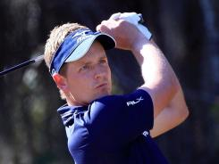 Luke Donald of England still has a chance to secure the European Tour money title.