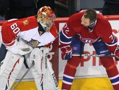 According to one report, the NHL's Florida teams could be paired with eastern Canadian teams in a four-conference setup.