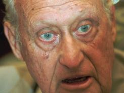Jaoa Havelange, seen here in 1997, has reportedly resigned from the International Olympic Committee. The 95-year-old was about to face suspension from the IOC for a scandal stemming from his tenure as FIFA president.