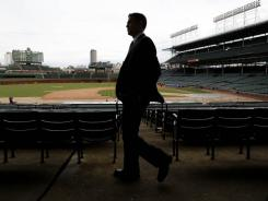 The Chicago Cubs spent big for new president for baseball operations Theo Epstein.