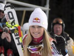 Lindsey Vonn won the World Cup women's downhill event last week in Lake Louise, Alberta. She announced in late November that she will be divorcing her husband since 2007, Thomas Vonn.
