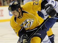 Nashville Predators right wing Jordin Tootoo will miss two games and more than $13,000 in pay.