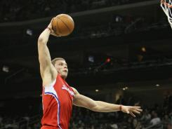 In details of the new NBA collective bargaining agreement, winners of the dunk contest and skills competitions receive $35,000. Blake Griffin (pictured) won last season's dunk contest.