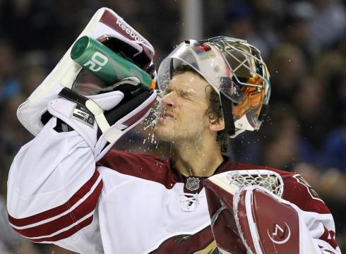 Smith Coyotes Goalie Goalie Mike Smith Has Done