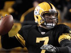 Ben Roethlisberger recovered from an ankle injury to lead the Steelers to victory over the Browns at Heinz Field in Pittsburgh on Thursday night.