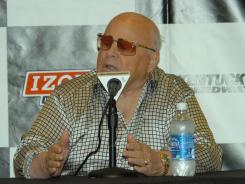 Las Vegas track owner Bruton Smith says his company negotiated a deal that will allow IndyCar to buy out its previously announced 2012 race.