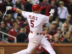 Albert Pujols signed  a 10-year contract with the Angels worth around $255 million.
