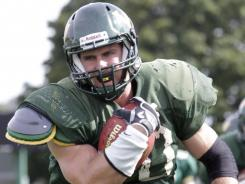 Wayne State's Josh Renel, who has run for 1,262 yards and 14 TDs this season, was named an Academic All-American this week.