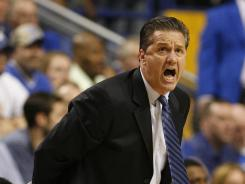 """I'd like to live a life after I'm done coaching. I'd like to be alive and happy,"" Kentucky coach John Calipari said Friday."