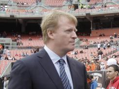 NFL Commissioner Roger Goodell has repeatedly urged NFL players to allow HGH testing to begin.