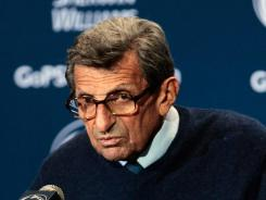 Joe Paterno will remain in the hospital to recover from his pelvis injury and to receive radiation and chemotherapy treatments for cancer.